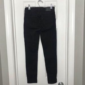 Levi's Jeans - Levi's Black High Waisted Skinny Jeans